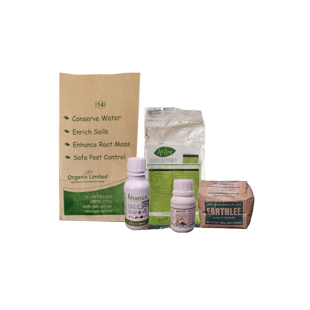 Organic Starter Kit - Contains Achook, Asilee, Nhance, Earthlee